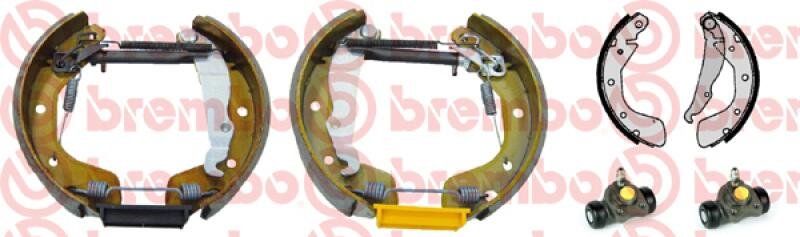 BREMBO Bremsbackensatz KIT & FIT