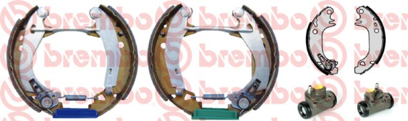 BREMBO Bremsbackensatz KIT & FIT