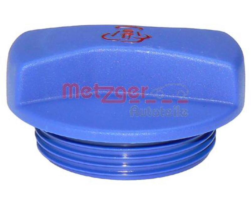 METZGER Verschlussdeckel, Kühlmittelbehälter