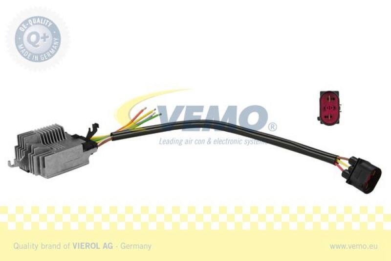 VEMO Steuergerät, Elektrolüfter (Motorkühlung) Q+, Erstausrüsterqualität MADE IN GERMANY