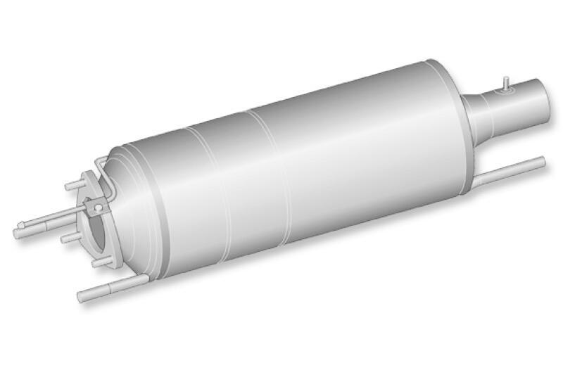 HJS Ruß-/Partikelfilter, Abgasanlage