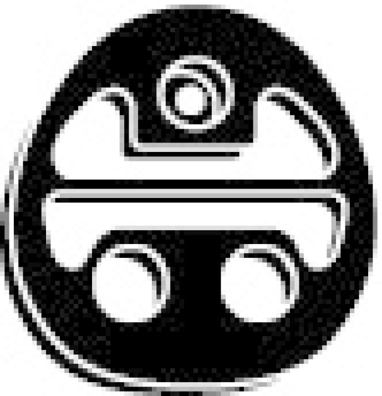 WALKER Gummistreifen, Abgasanlage