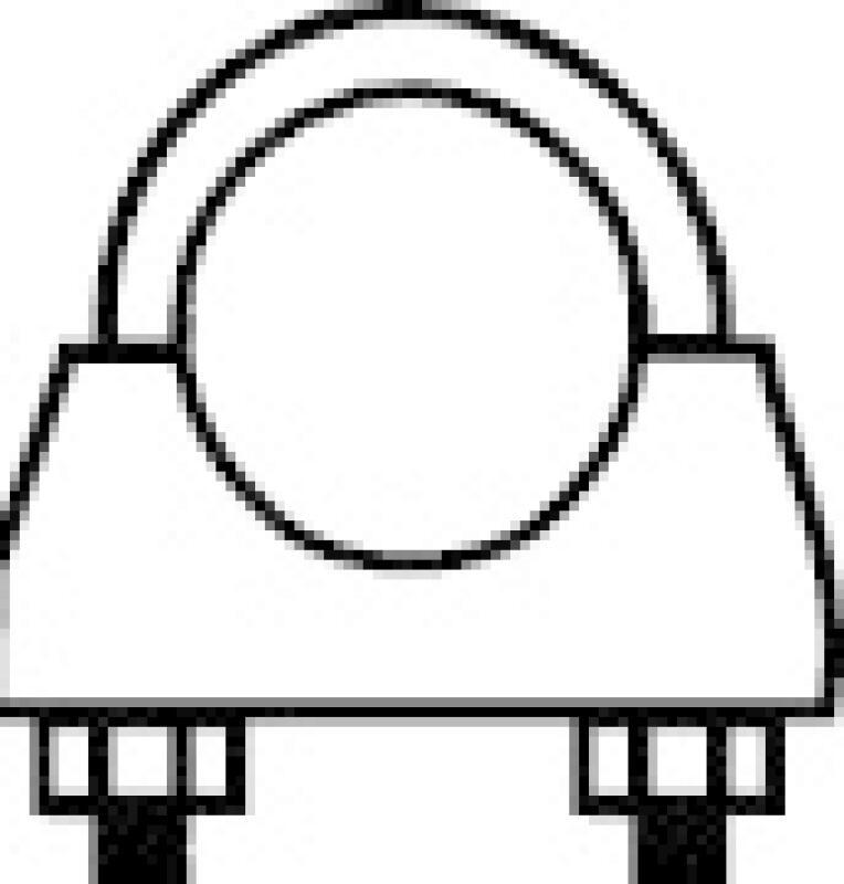 WALKER Klemmstück, Abgasanlage