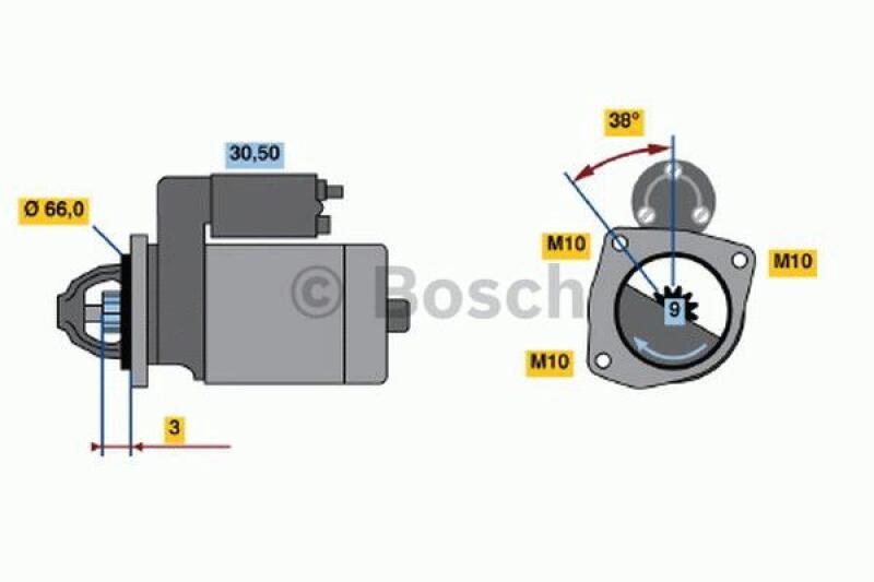 BOSCH Starter / Anlasser
