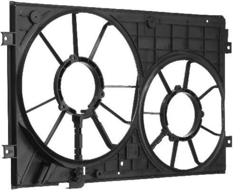 BERU Rahmen, Motorkühler
