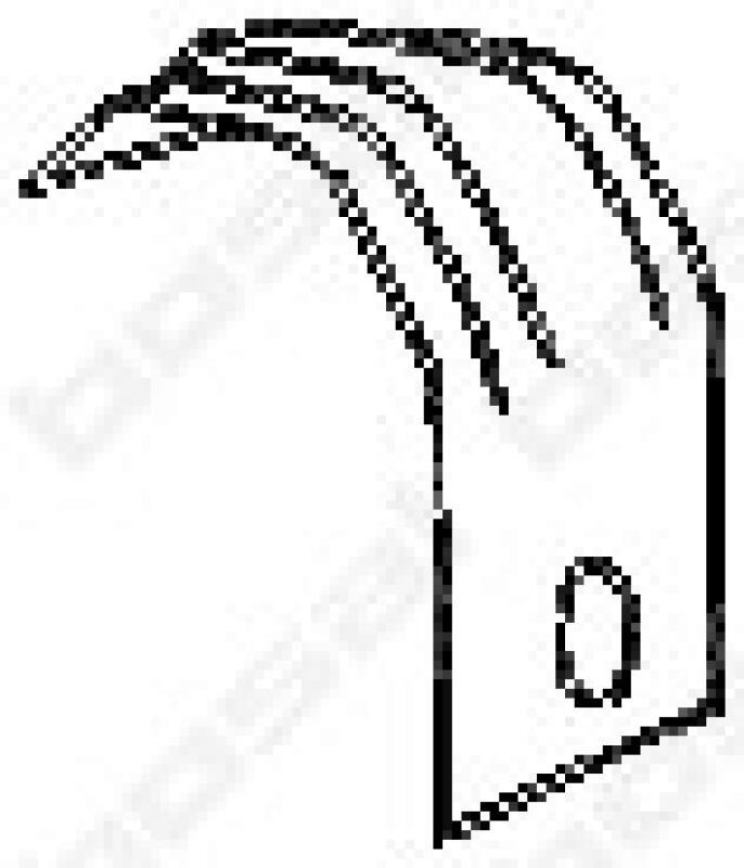 BOSAL Halter, Abgasanlage