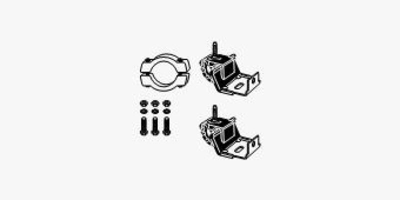 HJS Montagesatz, Schalldämpfer