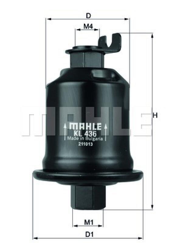 MAHLE ORIGINAL Kraftstofffilter