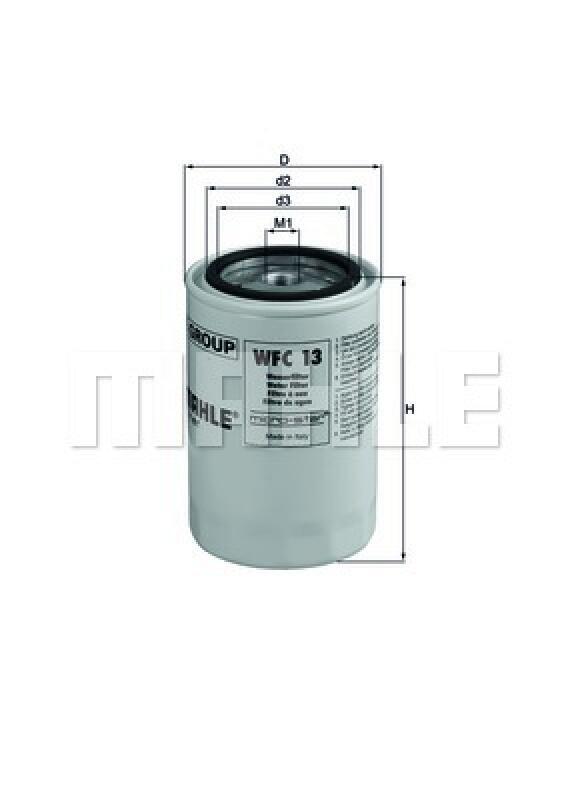 MAHLE ORIGINAL Kühlmittelfilter