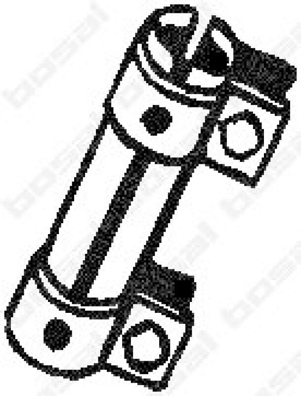 BOSAL Rohrverbinder, Abgasanlage