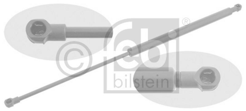 FEBI BILSTEIN Gasfeder, Heckscheibe