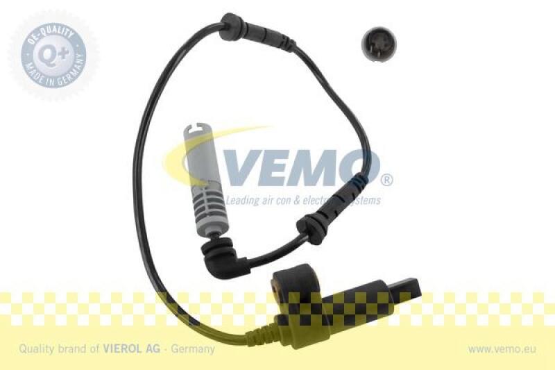 VEMO Sensor, Raddrehzahl Q+, Erstausrüsterqualität MADE IN GERMANY