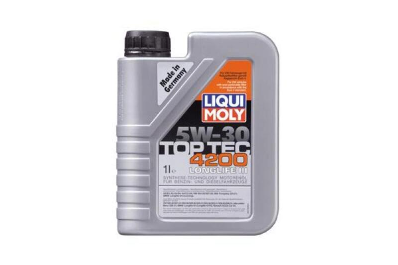 liqui moly leichtlaufmotoren l top tec 4200 5w 30 1l. Black Bedroom Furniture Sets. Home Design Ideas