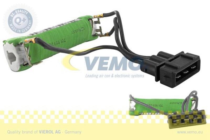 VEMO Vorwiderstand, Elektromotor-Kühlerlüfter