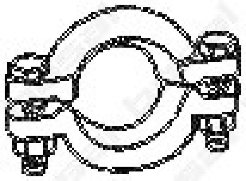 BOSAL Klemmstück, Abgasanlage