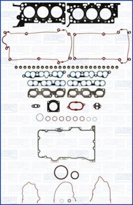 AJUSA Dichtungsvollsatz, Motor MULTILAYER STEEL
