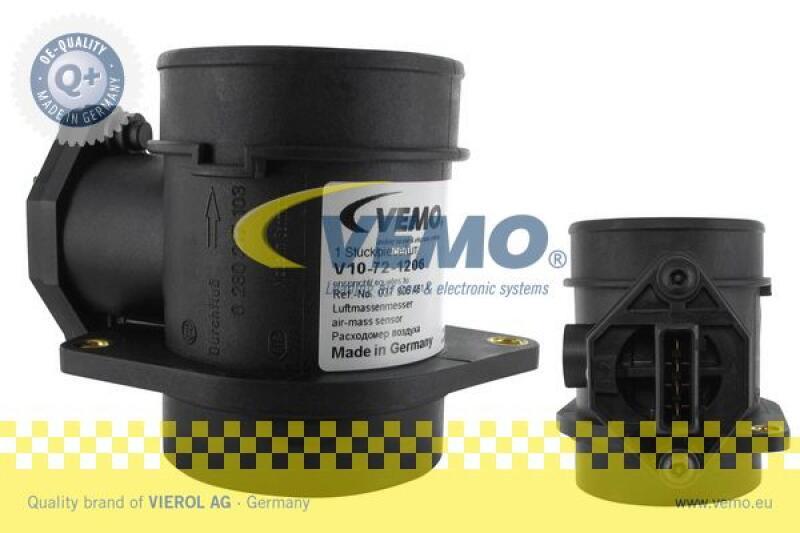 VEMO Luftmassenmesser Q+, Erstausrüsterqualität MADE IN GERMANY