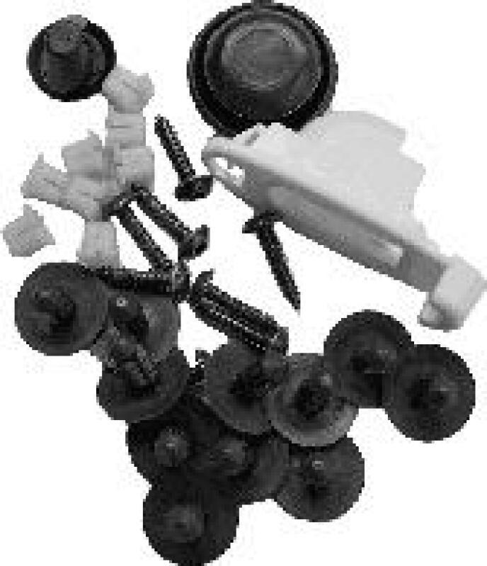 Montagesatz, Motorhaube
