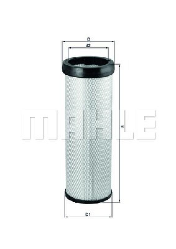 MAHLE ORIGINAL Sekundärluftfilter