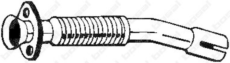 BOSAL Reparaturrohr, Katalysator