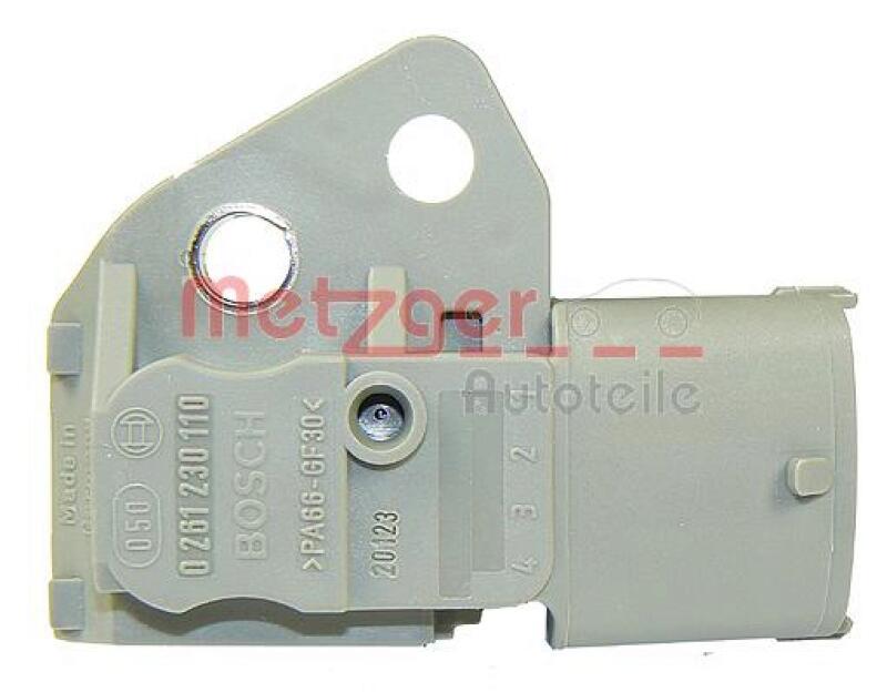 METZGER Sensor, Kraftstofftemperatur Original Ersatzteil