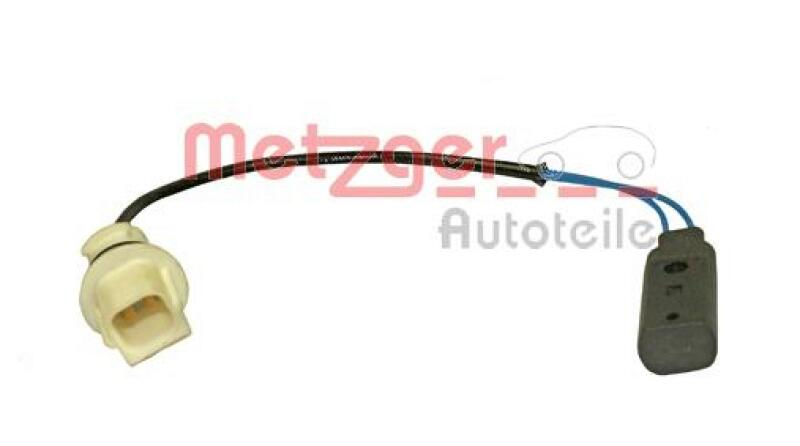 METZGER Sensor, Öltemperatur Original Ersatzteil