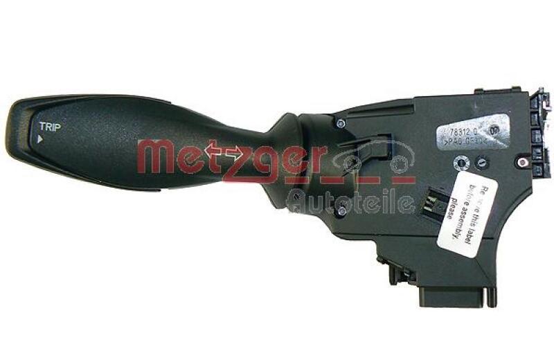 METZGER Blinkerschalter Original Ersatzteil