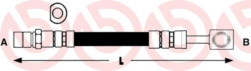 BREMBO Bremsschlauch