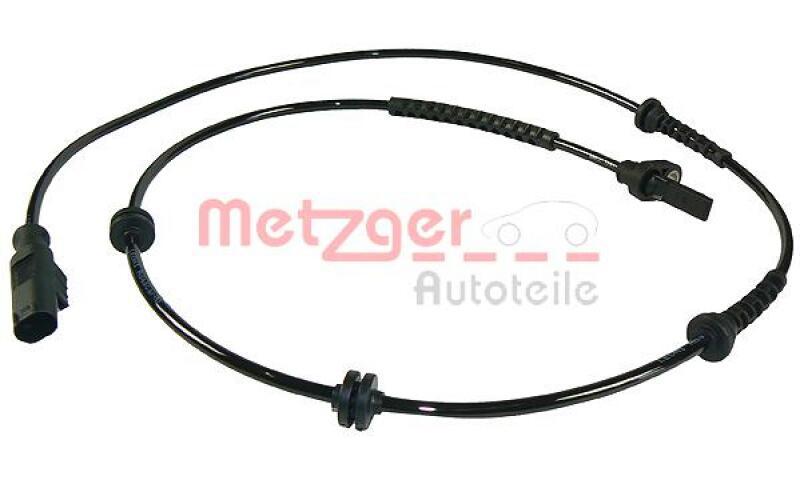 METZGER Sensor, Raddrehzahl Original Ersatzteil
