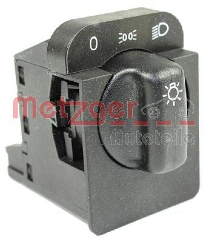 METZGER Schalter, Hauptlicht Original Ersatzteil