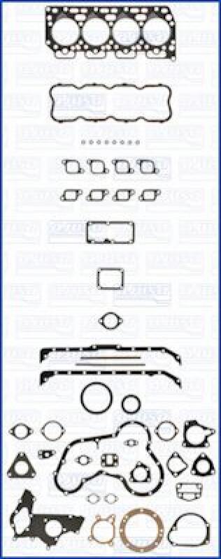 AJUSA Dichtungsvollsatz, Motor FIBERMAX