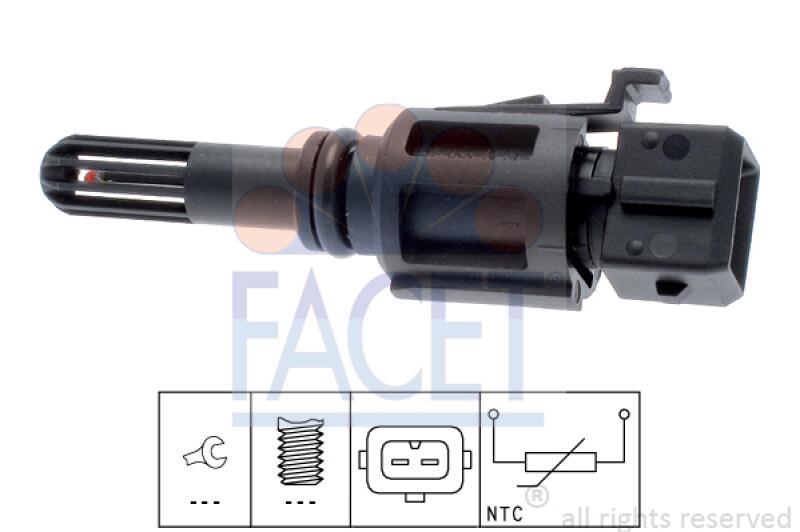 FACET Sensor, Ansauglufttemperatur