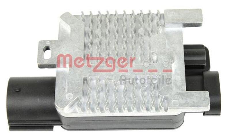 METZGER Steuergerät, Elektrolüfter (Motorkühlung)