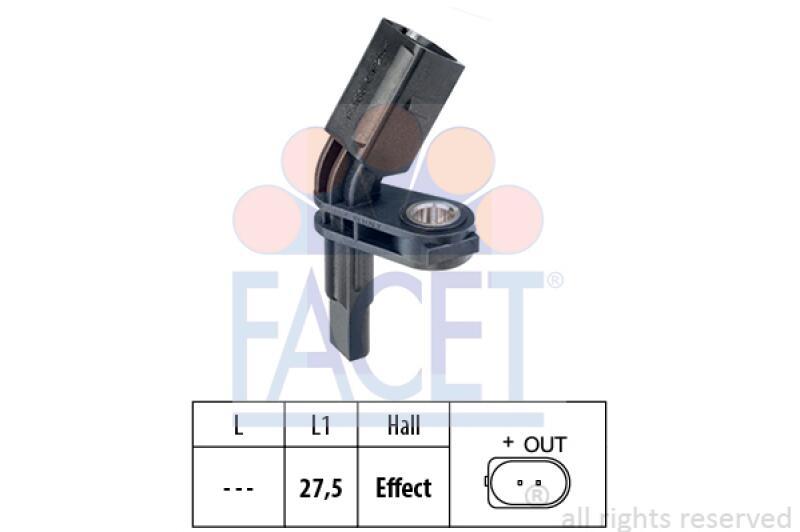 FACET Sensor, Raddrehzahl