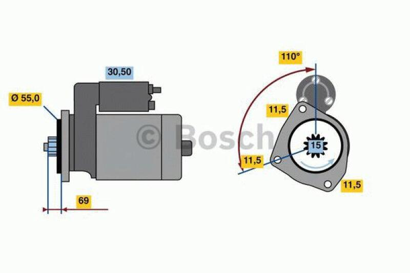BOSCH Starter / Anlasser