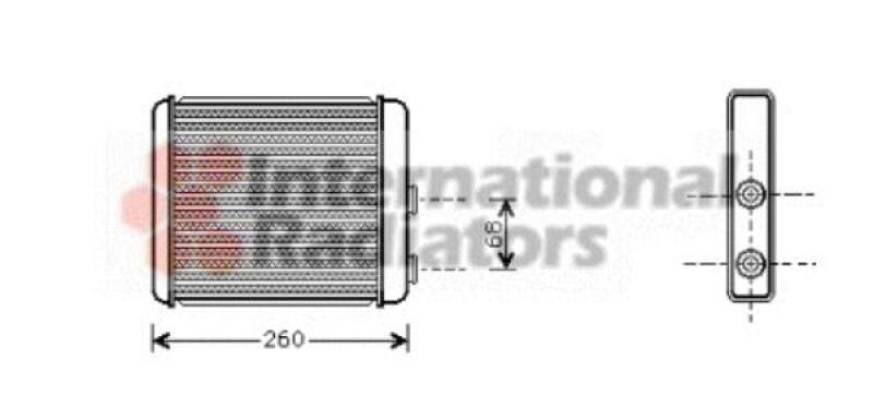 Wärmetauscher, Innenraumheizung
