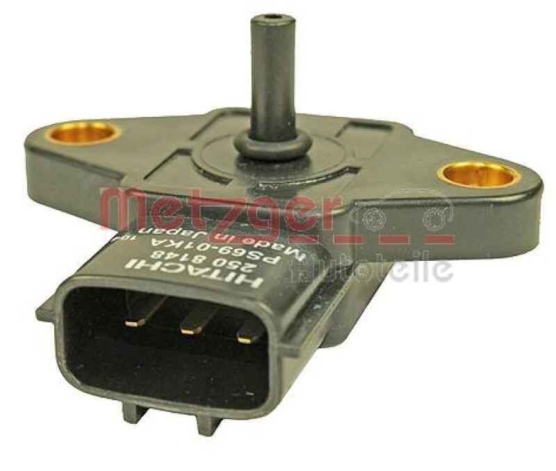 METZGER Sensor, Saugrohrdruck Original Ersatzteil