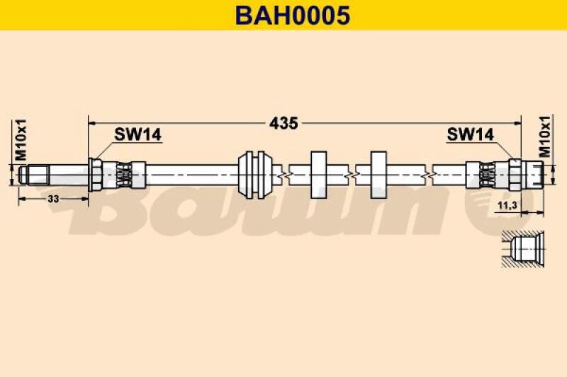 BARUM Bremsschlauch