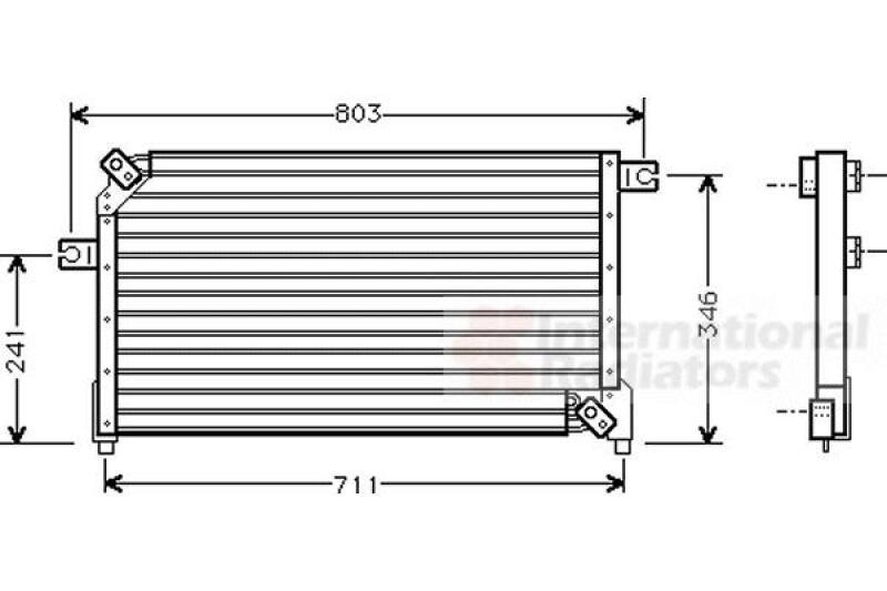 Kondensator, Klimaanlage