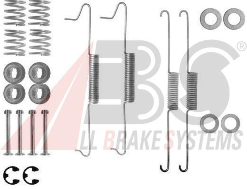 A.B.S. Zubehörsatz, Bremsbacken