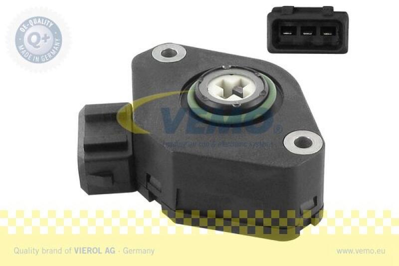 VEMO Sensor, Drosselklappenstellung Q+, Erstausrüsterqualität MADE IN GERMANY