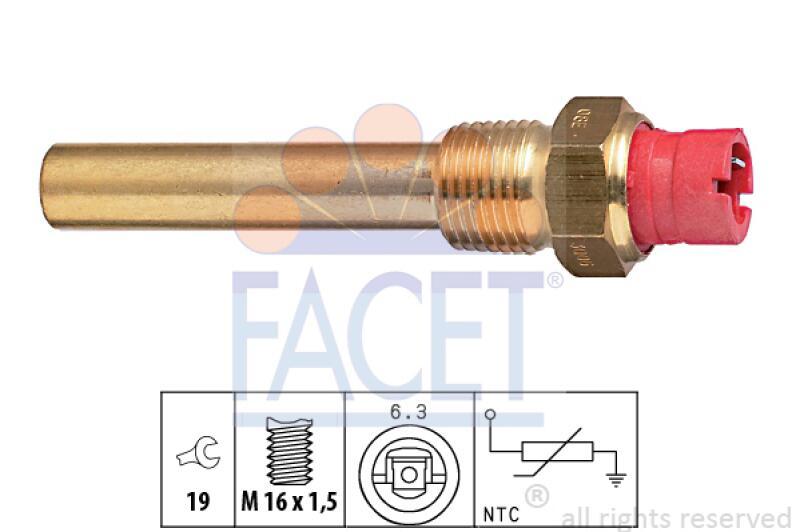 FACET Sensor, Öltemperatur