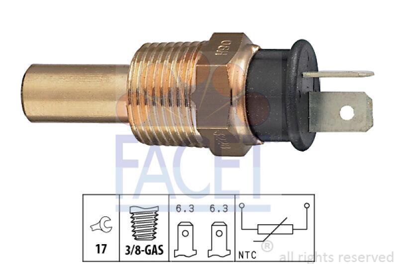 FACET Sensor, Kühlmitteltemperatur
