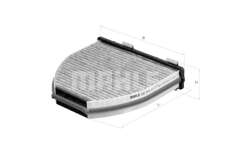 MAHLE ORIGINAL Innenraumfilter Filter Innenraumluft