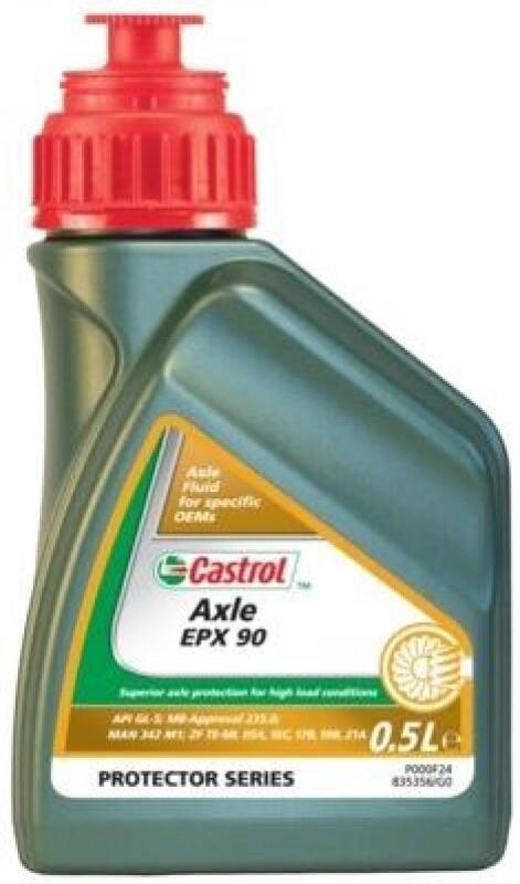 CASTROL Achsgetriebeöl Axle EPX 90 500ml
