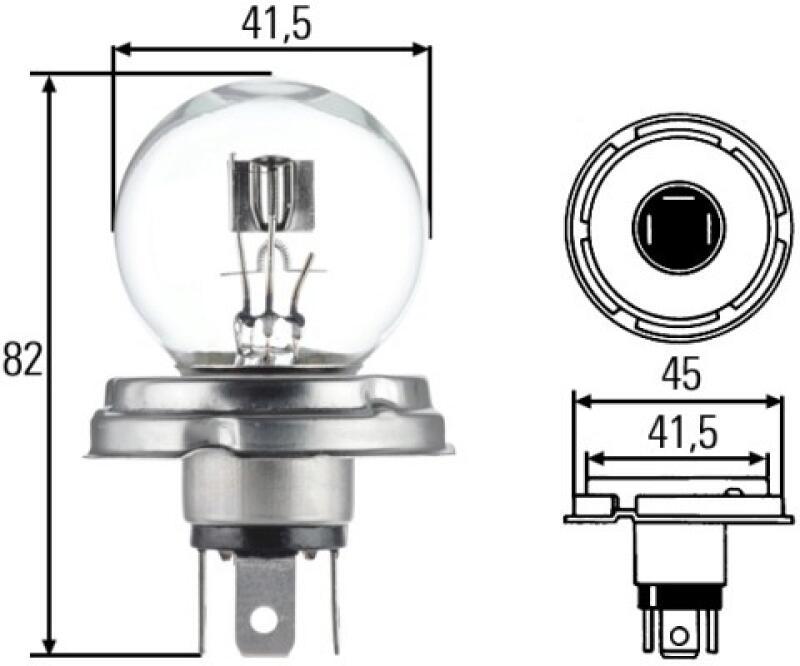 HELLA Glühlampe, Hauptscheinwerfer