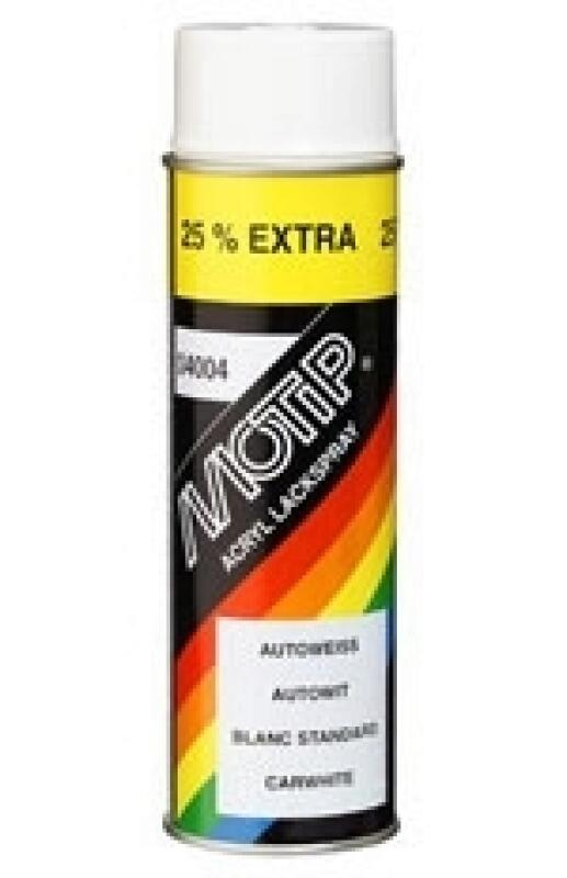 Motip Autoweiss Lack 500ml