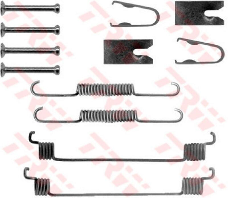 TRW Zubehörsatz, Bremsbacken