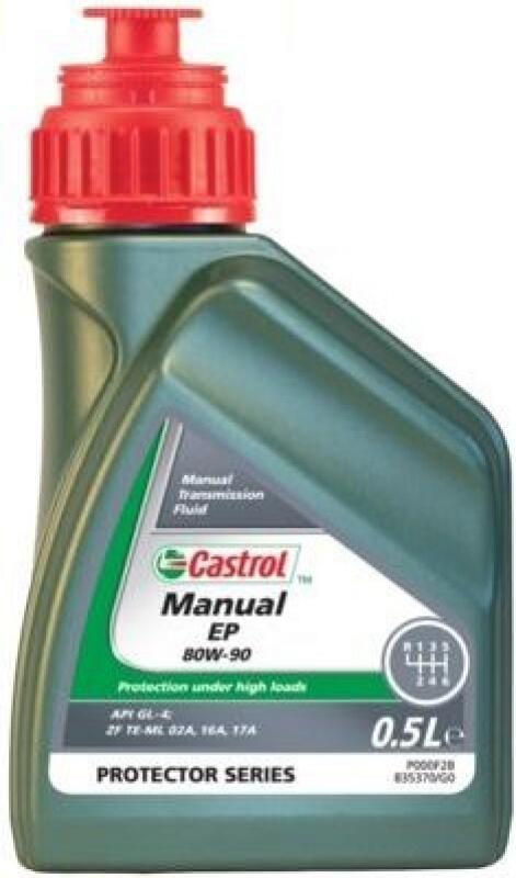 CASTROL Achsgetriebeöl Manuel EP 80W-90 500ml