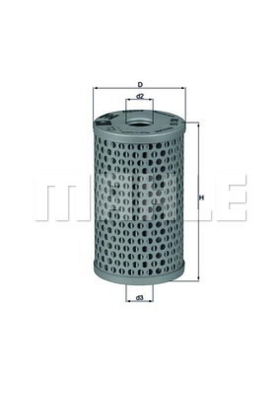 MAHLE ORIGINAL Hydraulikfilter, Lenkung